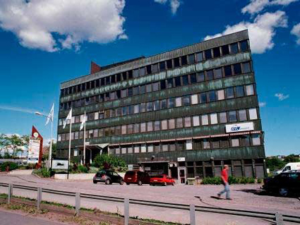 Här ska Veolia Transport Sveriges nya huvudkontor ligga. Foto: Brostaden.
