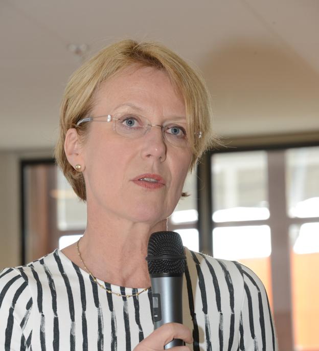 Charlotte Wäreborn Schultz, vd för X2AB. Foto: Ulo Maasing.
