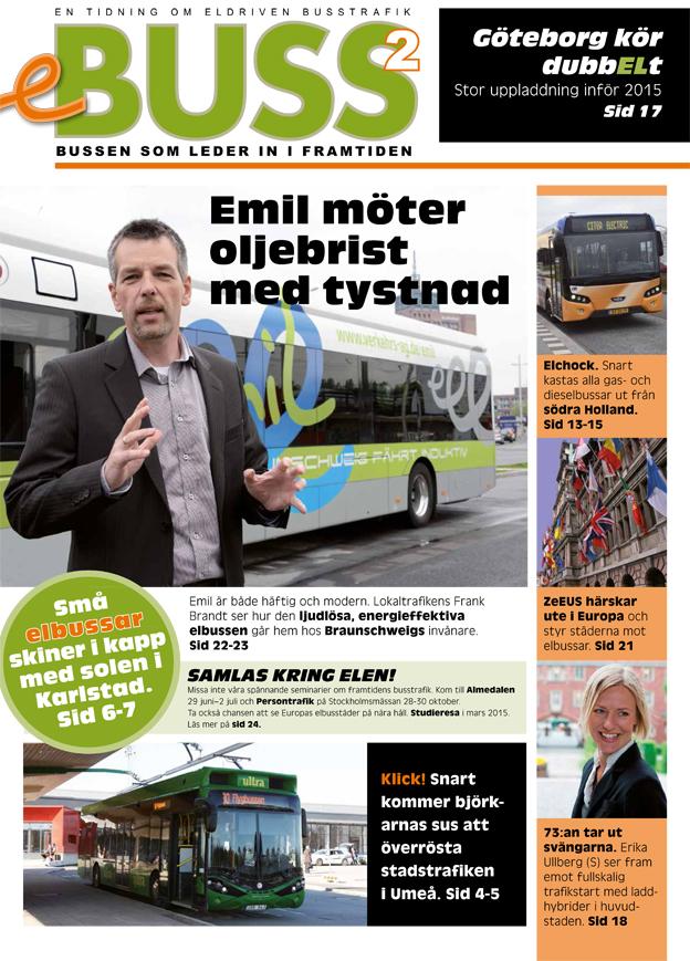 Ett nytt nummer av Sveriges Bussföretags och Bil Swedens tidning om elektrisk busstrafik är nu ute.