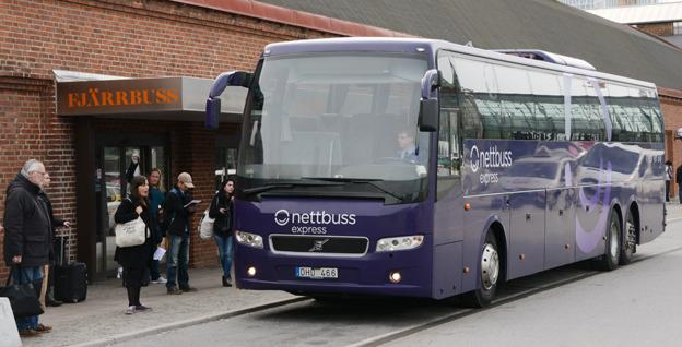Bussen stod för 4,5 procent av resorna vid fritidsresor med övernattning. Foto: Ulo Maasing.