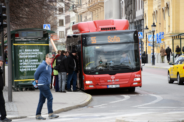 Trafiken är ett exempel på hur manligt tänkande styr utvecklingen av städerna. Foto: Ulo Maasing.