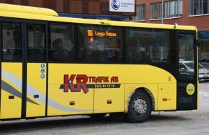 KR Trafik är en stor operatör norr om Mälardalen, bland annat som här i Uppland. Foto: Ulo Maasing-