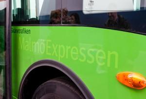 All vår början bliver svår… Även MalmöExpressen har fått sin dos av barnsjukdomar. Foto: Skånetrafiken.