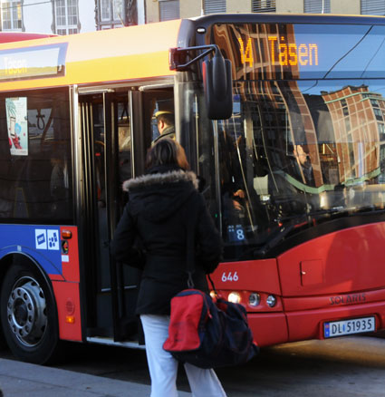 Norge ska införa ett enhetligt biljettsystem för all kollektivtrafik i hela landet. Foto: Ulo Maasing.