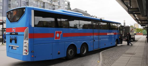 Långa bussresor i Örebro län kan bli billigare. Foto: Ulo Maasing.
