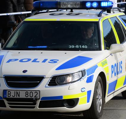 Polisen: Vi jobbar med annat. Foto: Ulo Maasing.