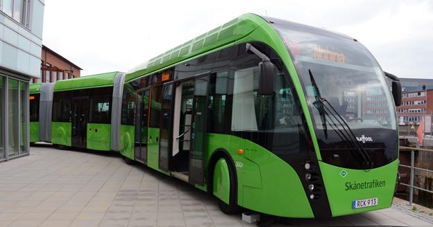 MalmöExpressens Van Hool ExquiCity är representerad med en buss i nyregistreringsstatistiken för maj. Foto: Ulo Maasing.