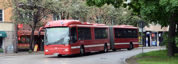 Resenärerna blir nöjdare men inte fler i SL-trafiken. Foto: Ulo Maasing.