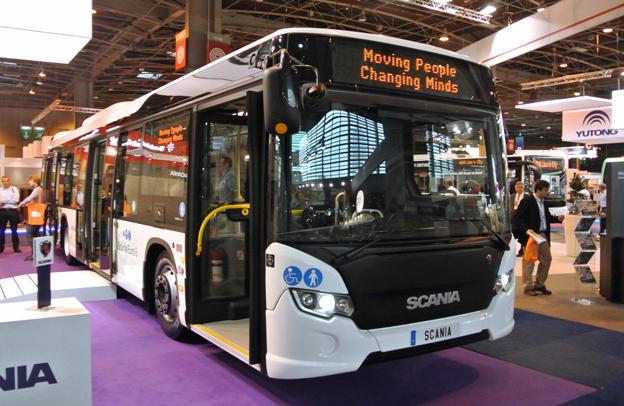 Scania valde att visa sin CityWide Euro 6.