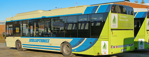 Den 18 augusti utökas busstrafiken i Skellefteå med 56 procent. Foto: Jlundqvi/Wikimedia Commons.