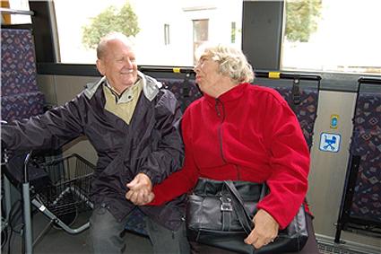 Kollektivtrafikmyndigheten i Sörmland är bäst i landet på tillgänglighet i kollektivtrafiken. Foto: PeO Quick.