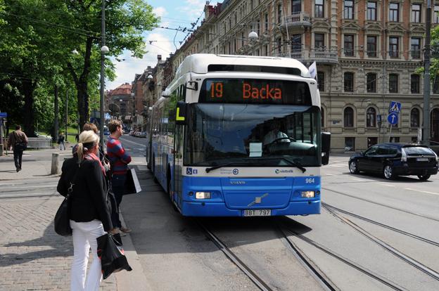 En av satsningarna från Västtrafik i vinter blir utökad trafik på stomline 16 i Göteborg. Foto: Ulo Maasing.