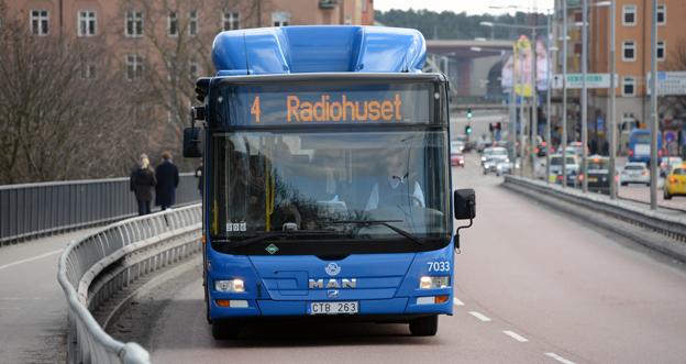Bussplan Stockholm vill att stomlinjerna i Stockholms innerstad ska vara först ut när det gäller elektrifiering. Foto: Ulo Maasing.