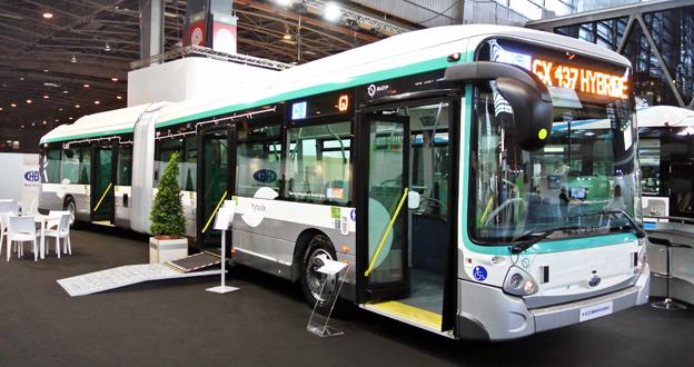 Nyhet från franska Heulieuz: hybridledbuss.