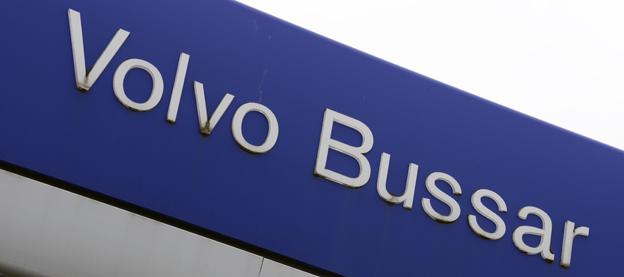 85 procent av de tidigare anställda vid Volvos bussfabrik i Säffle har ett år efter nerläggningen fått nytt jobb eller avtalspension. Foto: Ulo Maasing.