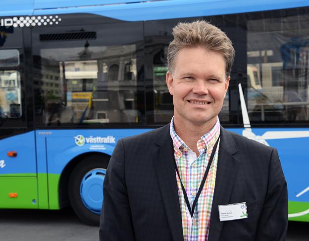 Magnus Broback, Volvo: Tekniken öppnar för helt nya möjlgheter i stadsplanering och stadsbyggnad. Foto: Ulo Maasing.
