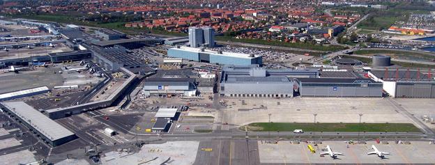 Köpenhamns flygplats Kastrup, snart utan flygbuss till Blekinge. Foto: Tomasz Sienicki/Wikimedia commons.