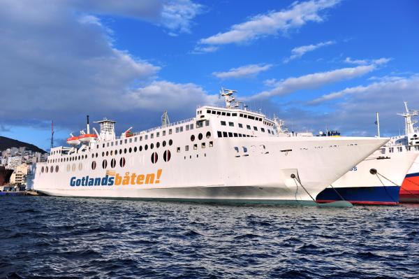 Kommer inte igång i år. Bild: Gotlandsbåten.
