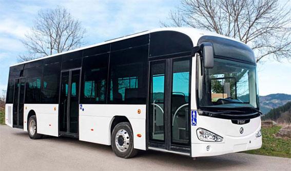 I samband med Irizars 125-årsjubileum visade företaget sin nya, eldrivna stadsbuss i2e för första gången för en bredare publik. Foto: Irizar.