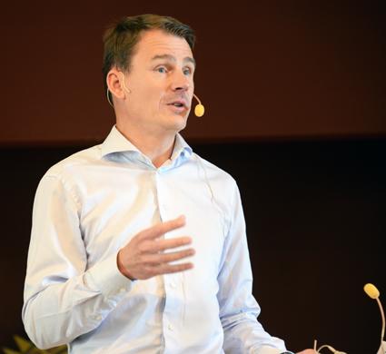 Magnus Åkerhielm, vd, Keolis Sverige: Vi anställer inte nationaliteter. Vi anställer medarbetare med kompetens och engagemang. Foto: Ulo Maasing.