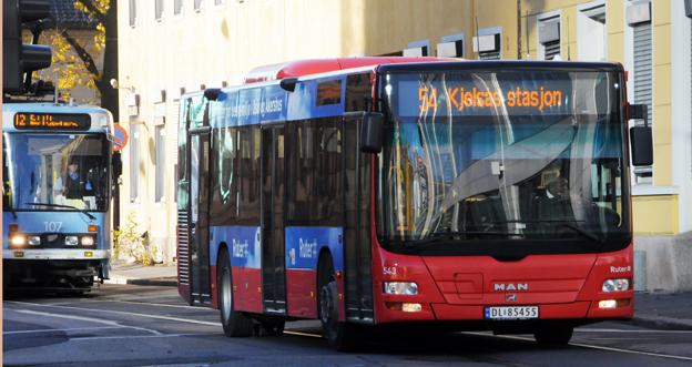 Den norska regeringen vill sätta fart på akapandet av ett nationellt betalsystem i kollektivtrafiken. Foto: Ulo MAasing.