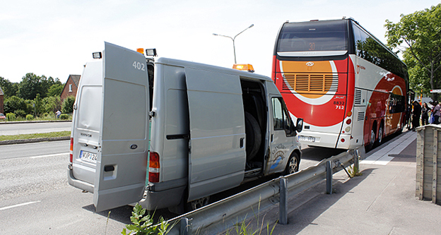 En krånglig bussresa från Vadstena till Åtvidaberg berättar Hasse Sukis om här. Men problemen fortsatte på hemresan… Foto: Hasse Sukis.