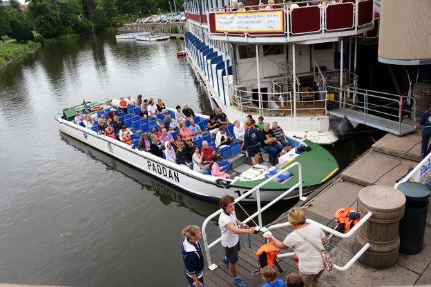 En av Strömmas Paddanbåtar i Göteborg.Västsverige har satt som mål att öka turistintäkterna med 40 prcent på sex år. Foto: Ulo Maasing.