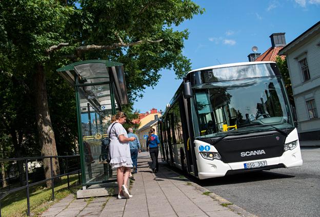 Det är fortfarande tungt för Scania på den europeiska stadsbussmarknaden. Foto: Dan Boman.