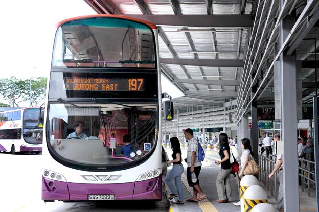 Volvo har fått en order på 415 dubbeldäckare med kaross från Wrightbus. Köpare är SBS Transit i Singapore som redan har över 1000 bussar av samma modell i trafik. Foto: Volvo Bussar.