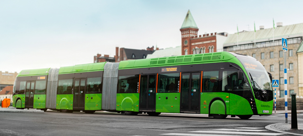 Superbuss med vissa problem. Foto: Karl-Johan Hjertström.