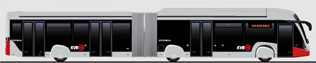 VDL lanserar nu en helt batteridriven ledbuss med BRT-design.
