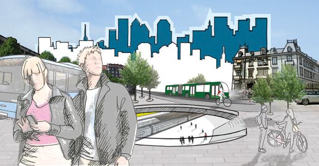 Västra Götaland jagar visioner för kollektivtrafiken. Bild: Jörgen Svensson