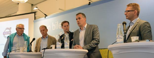 Tisdagen i Almedalen inleddes med ett seminarium på temat Varför elektriska bussar? Foto: Ulo Maasing.