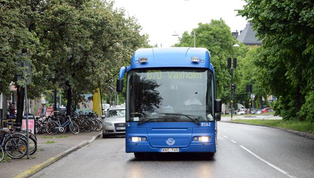 Trafikhaveriet i norra Storstockholm är huvudförklaringen till Arriva Sveriges katastrofresultat 2013. Foto: Ulo Maasing.