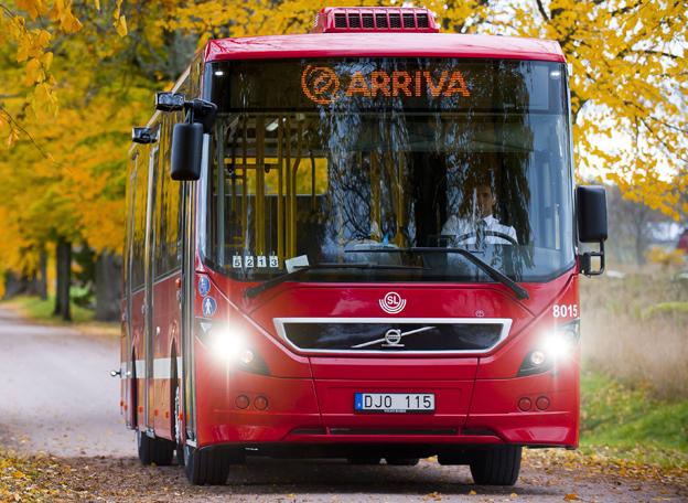Det går bättre för svensk bussbransch –om man inte räknar in Arrivas fjolårsresultat. Foto: Arriva.