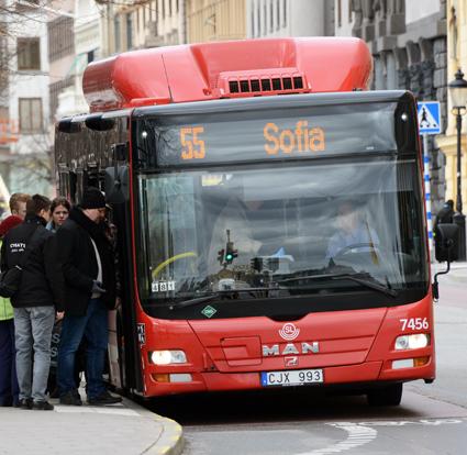 Centerpartiet i Stockholms län vill differentiera kollektivtrafiktaxan. Foto: Ulo Maasing.