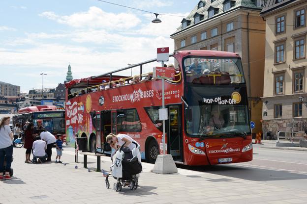 Turismen i Sverige ökade åter under det första halvåret. Foto: Ulo Maasing.