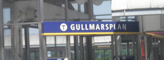Gullmarsplans tunnelbanestation är knutpunkt för många av bussarna till och från Tyresö.