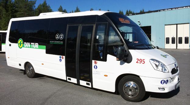 Härnösand är först i Sverige med en modern elbuss i vanlig kollektivtrafik.