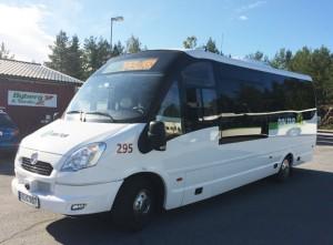 Snart får även Sollefteå sin första elbuss i stadstrafik. Operatören Byberg & Nordin räknar med att tre av fyra bussar i Härnösand nästa sommar kommer att vara elektriska.