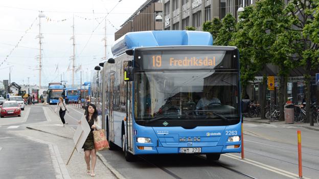 Keolis Sverige förbättrade i fjol sitt resultat kraftigt. I Göteborg är man nu största bussoperatör. Foto: Ulo Maasing.