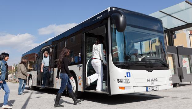 MAN har fått en order på upp till 815 bussar av modell Lion´s City i olika utföranden. Foto: MAN.