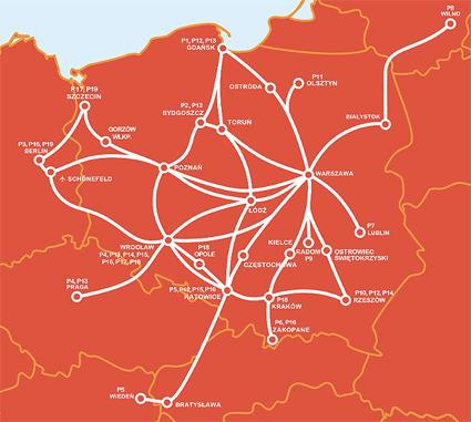 PolskiBus snabbt växande linjenät…
