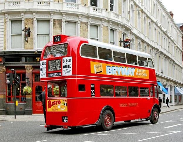 Det allra första exemplaret av den klassiska Londonbussen Routemaster, RT1, firar 75-årsjubileum. Bild: Transport for London.