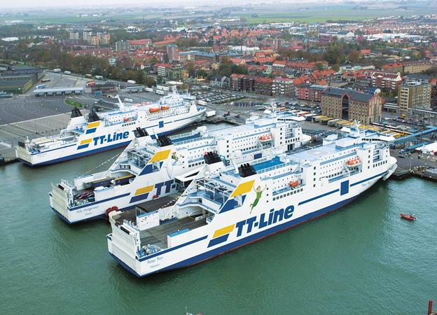 TT-Line utökar mellan Sverige och Polen. Foto: TT-Line.
