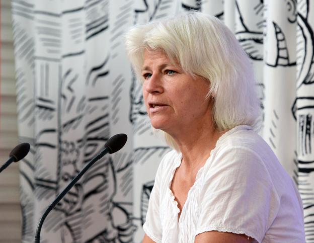 Karin Svensson Smith (MP): Det behövs stolta och trygga förare om vi ska kunna fördubbla kollektivtrafiken. Foto: Ulo Maasing.