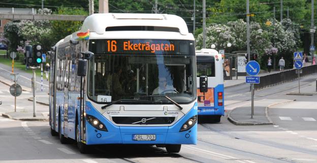 Västtrafik får gott betyg av resenärerna. Foto: Ulo Maasing.