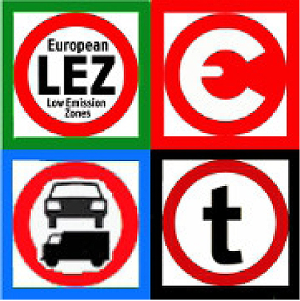 Bakom den nya webplatsen står EU-finansierade CLARS vars logotype avspeglar den information man ger: miljözoner, vägavgifter, viktbegränsningar och andra trafikrestriktioner.