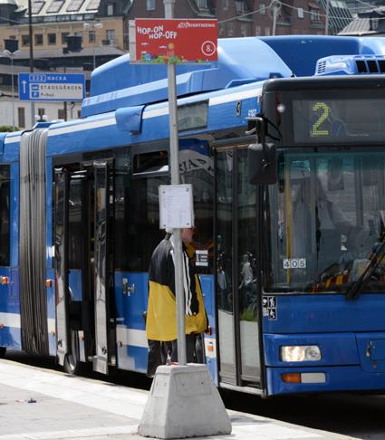 Problematiken kring bussar och buller tas upp i ett seminarium i Stockholm i slutet av november. Foto: Ulo Maasing.