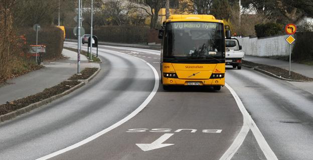 Kan dynamiska busskörfält vara ett alternativ till permanenta? Foto: Ulo Maasing.